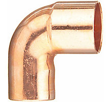 COPPER ELBOW ST90 1/2""