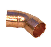 COPPER ELBOW ST45 1-3/8""