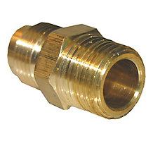 Brass Adapter 3/8 Male FL x 3/8 MPT