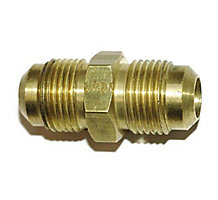 Brass Double Flare Union 1/4
