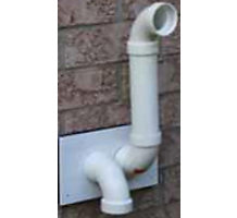 "2"" with Extra Large Wall Termination Kits (PVC)"