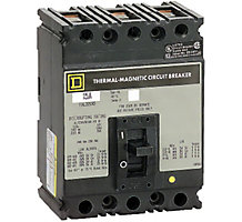 31K5801, Circuit Breaker, 3 Pole, 60A, 480V, 50/60 Hz, Molded Case