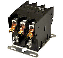 33P9201 Contactor, 3 Pole, 24 Volts, 60 Amps
