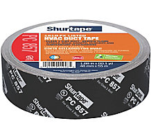 "Shurtape PC 857 Printed Cloth Duct Tape, 2"" x 60 yd., Black Printed"