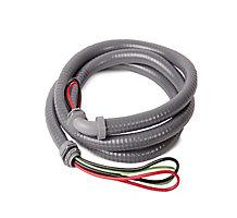 "DiversiWhips 6-12-6NMS Non-Metallic Whip, 1/2"" x 6', 10 GA Wire"