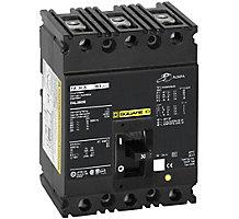 37J8501, Circuit Breaker, 3 Pole, 60A, 600V, 50/60 Hz, Molded Case