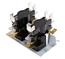 Electric Heat Sequencer 4 Switches On Timings 1-110 Sec Off Timings 1-110Sec.