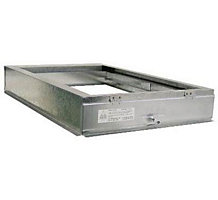 "E-Z Filter Base 1620FC 17-1/2"" x 22"" x 4"" Fan/Coil Unit Filter Base for 1"" or 2"" x 16"" x 20"" Filters"