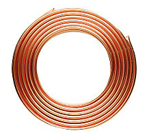 "1/4"" x 50' Copper Refrigeration Tube"