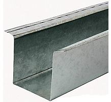 """Refrigerant Line Cover, 4"""" x 4"""" x 4"""", 8' Length, 26 Gauge"""