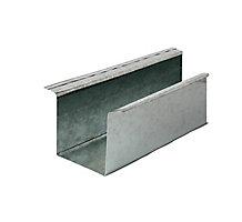 """Refrigerant Line Cover, 4"""" x 4"""" x 4"""", 10' Length, 26 Gauge"""