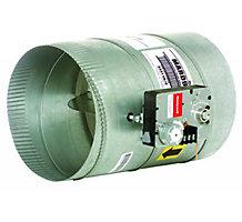 "12"" Round Modulating Damper"" Side or Top Actuator Mounting"