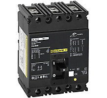 49L4201, Circuit Breaker, 3 Pole, 35A, 600VAC/250VDC, 50/60 Hz, Type FAL, Molded Case