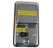 """Cover For 2-1/4"""" Handy Box with Switch"""