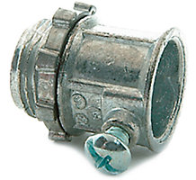 """EMT Fittings, Set Screw Connector, 1/2"""", Use to Join EMT Conduit to Boxes on Enclosures"""