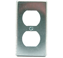 Flat Two Duplex Receptacle Electric Box Cover