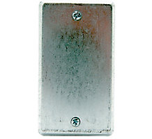 Flat Blank Electric Box Cover
