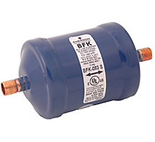 Emerson 100215-07 Liquid Line Bi-Flow Filter Drier, 8 cu in, 3/8