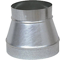 "Lukjan 431, 6"" x 3"" Tapered Reducer, No Crimp"