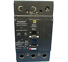 56L4601, Circuit Breaker, 3 Pole, 225A, 240V, 50/60 Hz, Molded Case