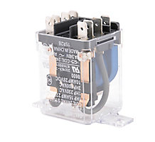 Deltrol Controls 56L6801 Pulse Control Relay, SPDT, 1 N.O. and 1 N.C., 24 Volts
