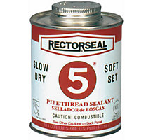 Rectorseal 25431, No. 5 Multi Purpose Pipe Thread Sealant, 1 pt.