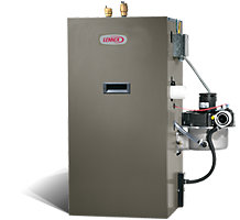 GWB9-050IH-3, 90% AFUE, Gas-Fired Water Boiler, 50,000 Btuh, 2.6 Gallon Capacity, Natural or LPG/Propane Gas