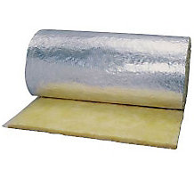 "1.5"" x 48"" x 100' R4.2 SOFTR Duct Wrap FRK"" Type 75"