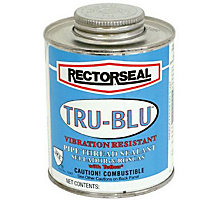 Rectorseal 31551, Tru Blu Pipe Thread Sealant, 1/2 pt.