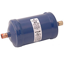 "Sporlan 58A6401 Catch-All Suction Line Filter Drier, 30 cu in, 3/4"" ODF Solder, 3-5 Tons"