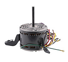 US Motors K055HFZ8638011J Fan Motor, 1/3HP, 4 Speed, 115 Volts, 60 Hz, 1075 RPM, 5.1-6.0 Amps