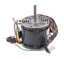 US Motors K055HGB8639011J Fan Motor, 1/2HP, 5 Speed, 115 Volts, 60 Hz, 1075 RPM, 8.0-8.6 Amps
