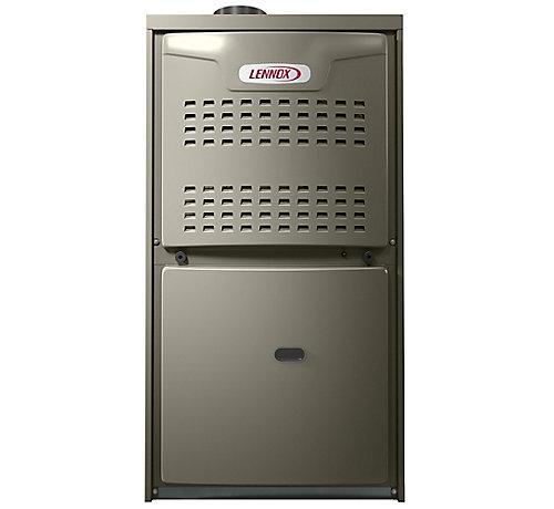 lennox merit 14acx. ml180uh110p60c, 80% afue, upflow/horizontal, gas furnace, psc, 110,000 lennox merit 14acx