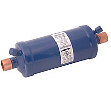 """Sporlan 63C9801 Catch-All Suction Line Filter Drier, 16 cu in, 3/4""""  ODF Solder, 1-2.5 Tons"""