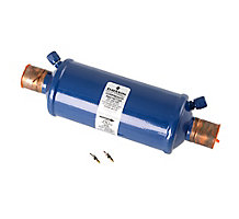 """Sporlan 63C9901 Catch-All Suction Line Filter Drier, 30 cu in, 1-1/8"""" ODF Solder, 3-5 Tons"""