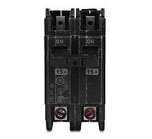 65F8801, Circuit Breaker, 2 Pole, 25A, 120/240V, Miniature, Common Trip