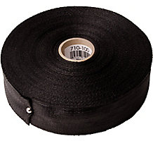 "Duct Strap - Woven Polypropylene, 1-3/4"" x 100 Yards, Black"