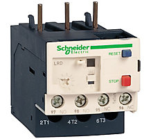 Schneider Electric 102398-01 Motor Overload Protector, 3 Phase Bimetallic Thermal Overload Relay, 0.63/1 Amps, Class 10