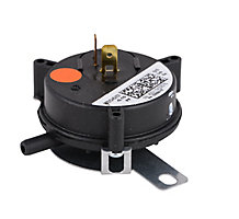 "Microtechnologies 100684-07 Pressure Switch Orange (0.1"" WC), SPST N.O."