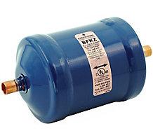 "Emerson 100215-11 Liquid Line Bi-Flow Filter Drier, 16 cu in, 5/8"" ODF Solder, 8.7 Tons"