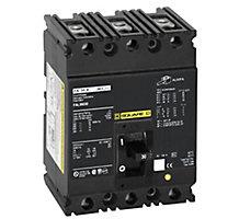 66J3001, Circuit Breaker, 3 Pole, 15A, 600V, 50/60 Hz, Molded Case