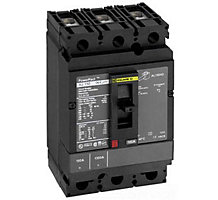 102530-01, Circuit Breaker, 3 Pole, 110A, 600V, Type HDP, Molded Case
