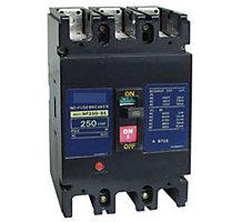 102531-04, Circuit Breaker, 3 Pole, 250A, 600V, Type JDP, Molded Case