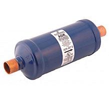 "Sporlan 69H0801 Catch-All Liquid Line Filter Drier, 8 cu in, 1/2"" ODF Solder, 8.7 Tons"