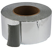 "Aluma-Grip AFT-701 Silver Foil 3"" x 50' Roll, Thickness 30 Mils, Tensile Strength 720 psi Avg."