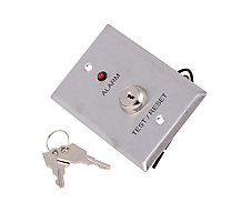 Air Products And Controls Remote Alarm with Led, Test/Reset Key for SM And SL Series Duct Smoke Detectors