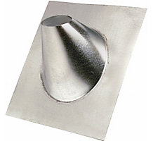 """12/12 Flashing 4"""", Fits Roof Pitch 6/12 to 12/12"""
