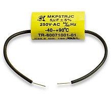 Taco Run Capacitor, Replacement Kit, 5 MFD, 250V, 50/60 Hz