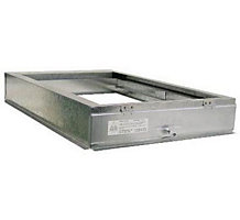 "E-Z Filter Base 1625 17-5/8"" x 28-5/8"" x 4"" Furnace Filter Base for 1"" or 2"" x 16"" x 25"" Filters"