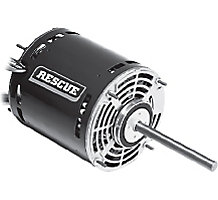 Rescue 76N1701 PSC Furnace Blower Motor, 1/2-1/6HP, 115 Volts, 1075 RPM